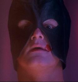 unholy leather mask