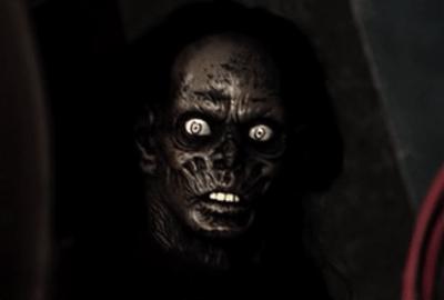 halloween hell prop face