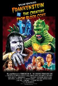 frankenstein vs creature from blood cove cover