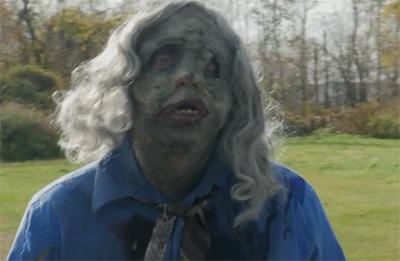 bigfoot vs zombies zombie mask