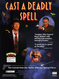 cast a deadly spell cover