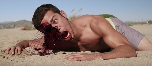 blood sand face eat