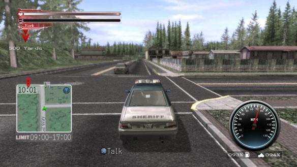 deadly premonition car