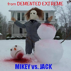 michael myers and snowman