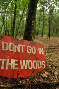 dont go in woods