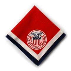1951 World Jamboree USA Neckerchief