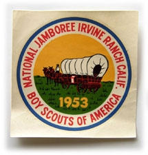 1953 National Jamboree Decal