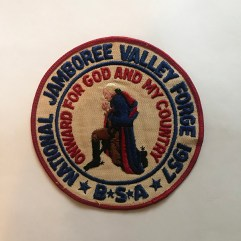 1957 National Jamboree Back Patch