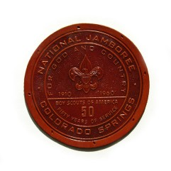 1960 National Jamboree Leather Patch