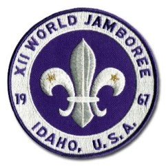 1967 World Jamboree Back Patch