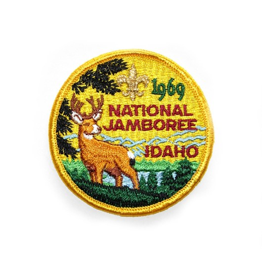 1969 National Jamboree Pocket Patch