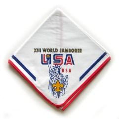 1971 World Jamboree USA Neckerchief