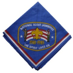 1985 National Jamboree Neckerchief