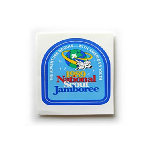 1989 National Jamboree Sticker