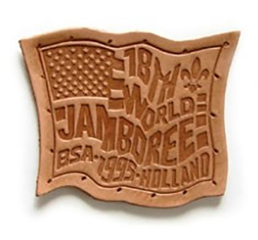 1995 World Jamboree USA Leather