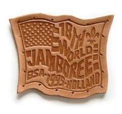 1995 World Jamboree Leather Patch