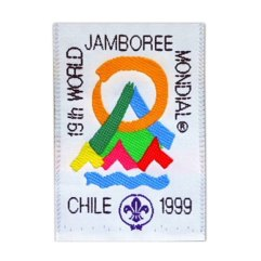 1999 World Jamboree Participant Pocket Patch
