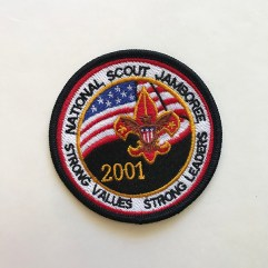 2001 National Jamboree Pocket Patch