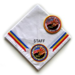 2001 National Jamboree Set of 2 Staff