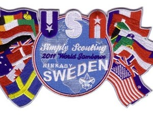 2011 World Jamboree USA Jacket/Back Patch