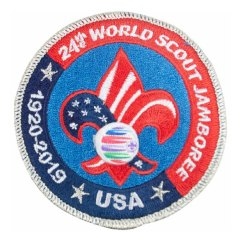 2019 World Jamboree USA Contingent Pocket Patch