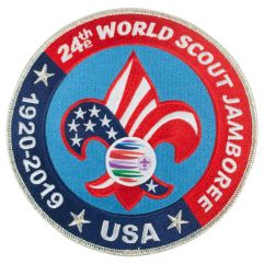 2019 World Jamboree USA Contingent Jacket/Back Patch