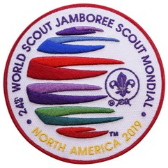 2019 World Jamboree 3D Souvenir Jacket / Back Patch