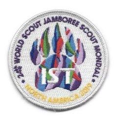 2019 World Jamboree IST Staff Pocket Patch