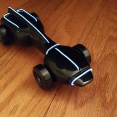 Caleb's Tron Car