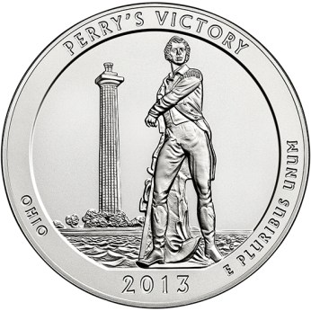 America the Beautiful quarters - Perry's Victory and International Peace Memorial