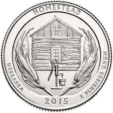 America the Beautiful quarters - Homestead National Monument of America