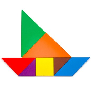 Tangram Sailboat