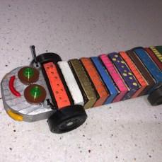 Color-caterpillar-car