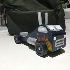 Roadster Flame Semi