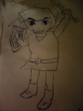 Toon Link From The Legend Of Zelda: Wind Waker
