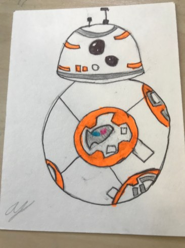 BB-8 by Andrew