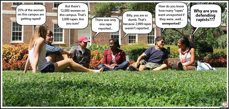 Argument over rape stats 2