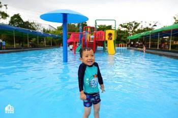 2020嘉義竹崎親水公園|戲水區開放5個月還有鯨魚攀爬網