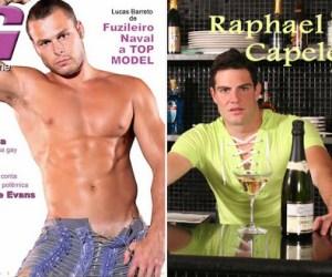G Magazine | Capa - Lucas Barreto e no Desejo Rafael Capeletto