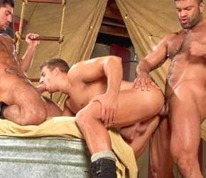 Circus Fucks | Leo Domenico, Logan Vaughn & Rogan Richards