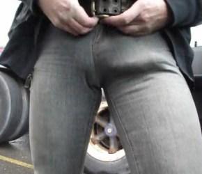 Manja Rola - Caralhão marcado no jeans