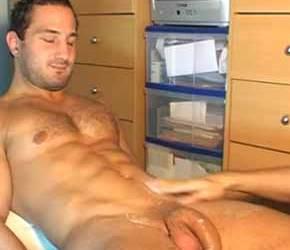 Hétero francês recebe massagem no pau de um outro homem