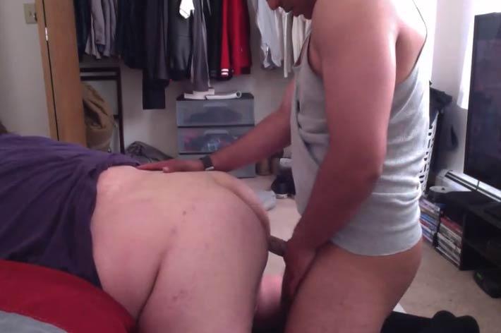 gay chubby anal bareback straight boy