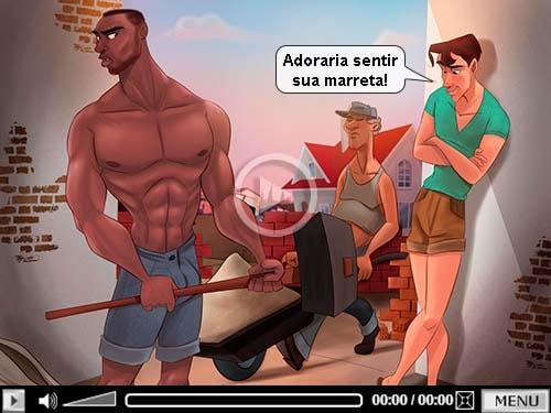 marreta do hetero desenho gay