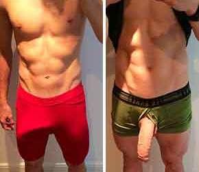 Aaron Moody, 27 cm de pica e glande de anzol, está de volta