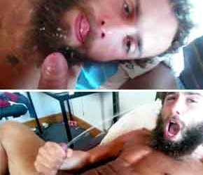 Ogrão gato todo galado na barba grande