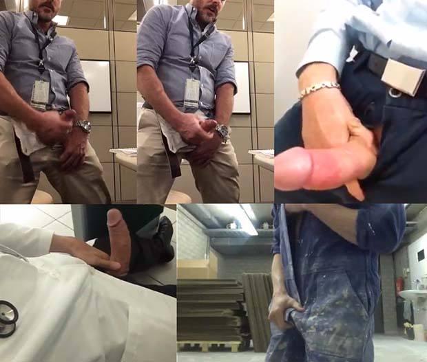 homens safados pelado no trabalho