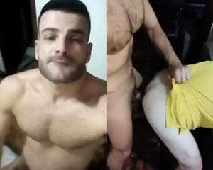 Rafael Cortez bombando no parreco de outros caras