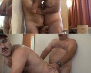 Caminhoneiro comendo seu homem peludo