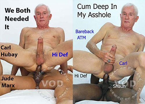 pauzao negro socado no velho gay